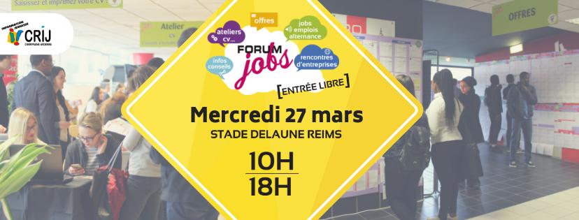 Forum jobs de Reims