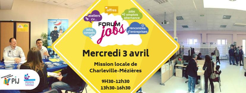 Forum Jobs et Emploi - Charleville-Mézières