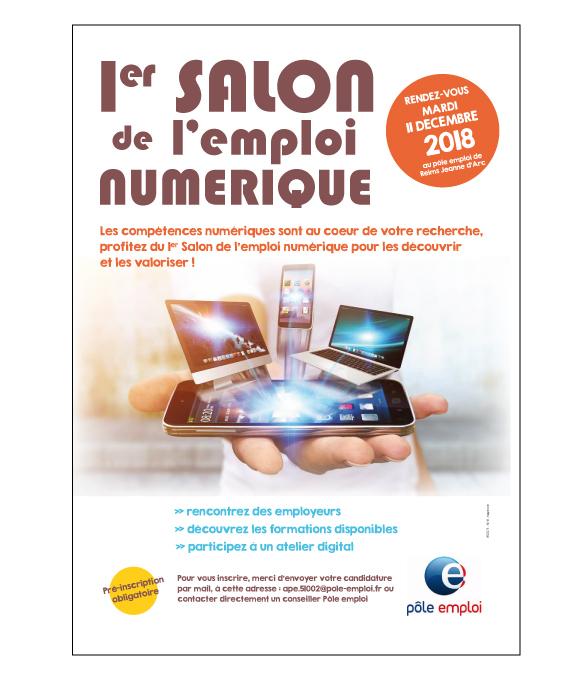 1er salon de l'emploi numérique - Reims