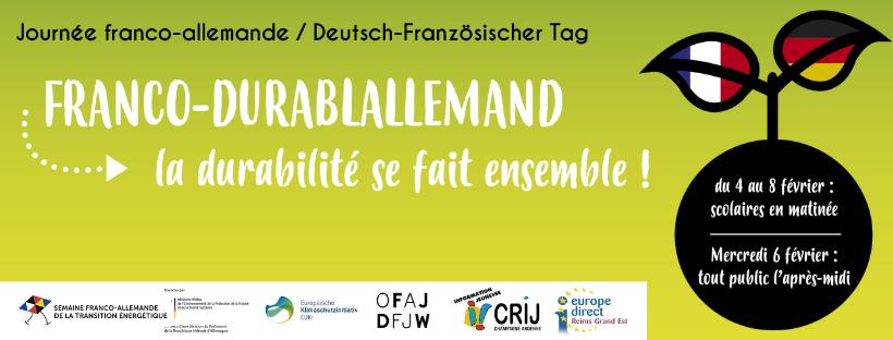 Franco-durablallement : la durabilité se fait ensemble !