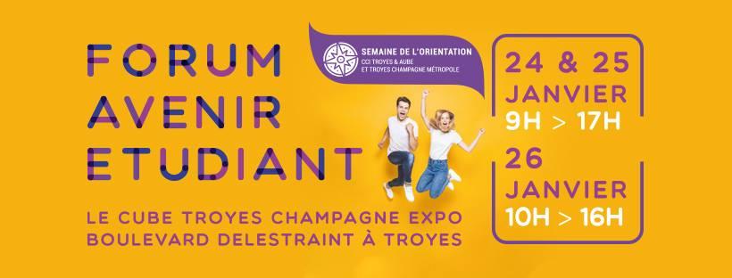 Forum Avenir Etudiant - Troyes