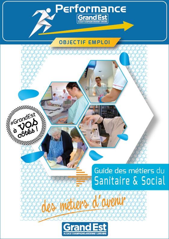 Le guide des carrières sanitaires et sociales Grand Est