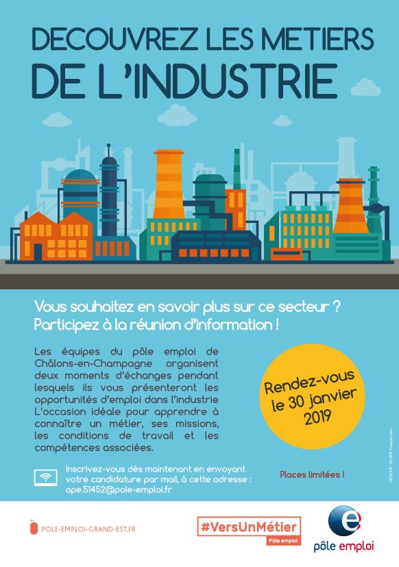 Découvrez les métiers de l'industrie - Châlons-en-Champagne