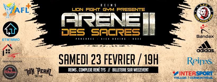 Gala de l'Arène des Sacres - Reims