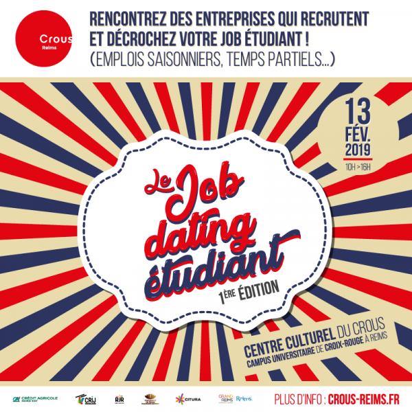 Job dating au Crous - Reims