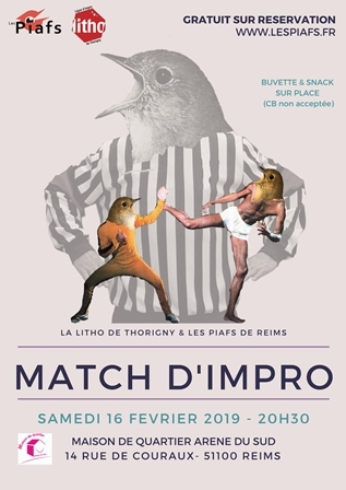 Match d'impro - Reims