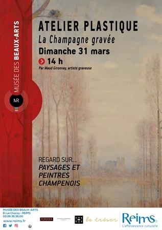 La Champagne gravée - Reims