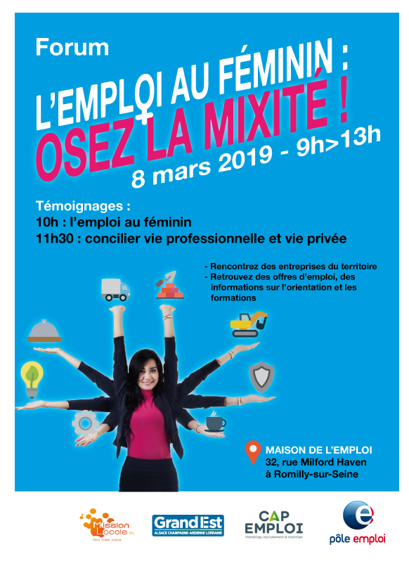 L'emploi au féminin - Romilly-sur-Seine
