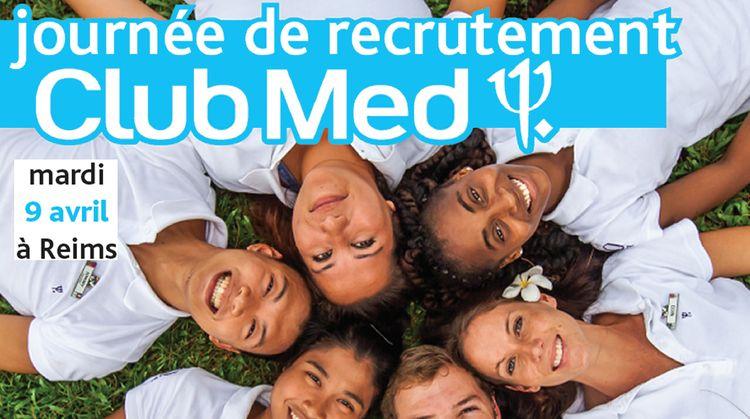 Journée de recrutement Club Med - Reims