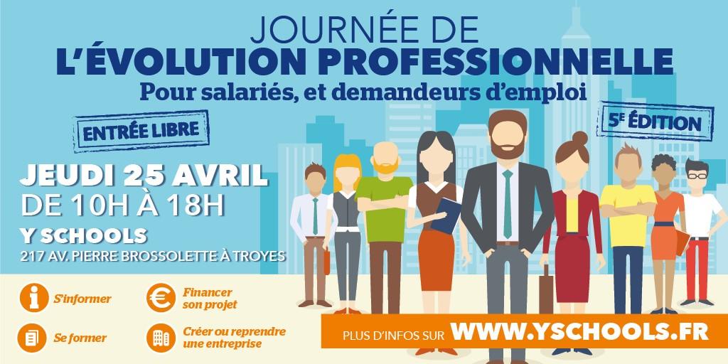 5e journée de l'évolution professionnelle - Troyes