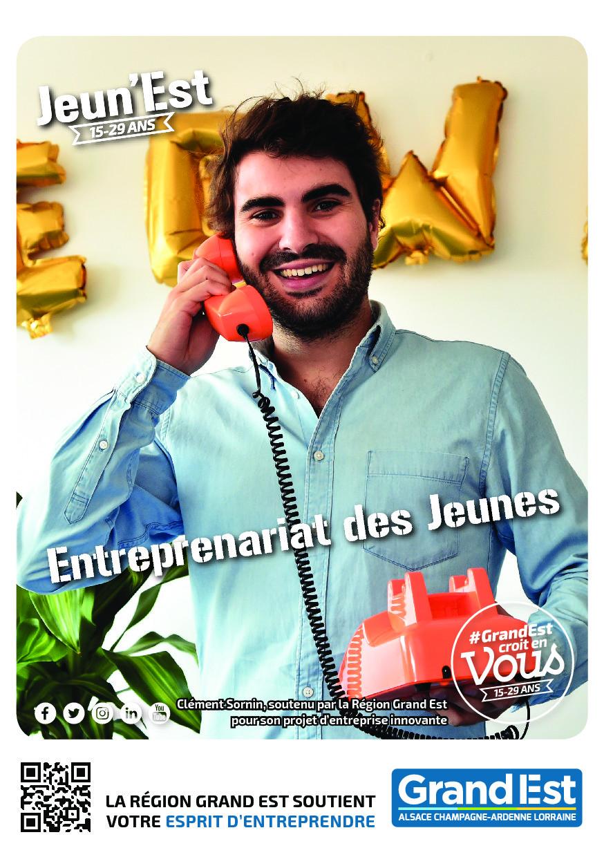 Pour les jeunes de 18 à 29 ans, créateurs d'entreprises