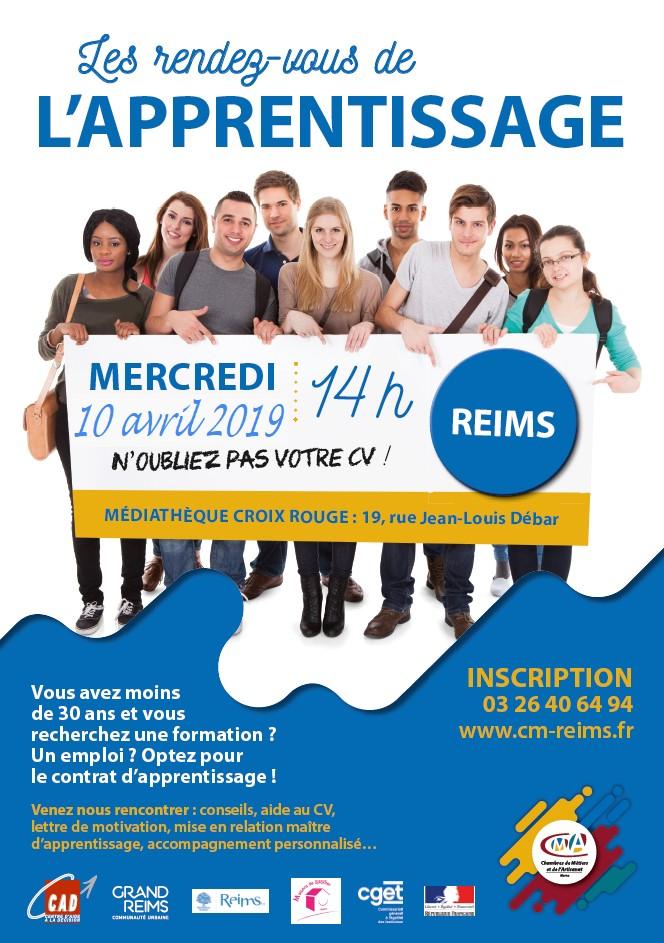 Les rendez-vous de l'apprentissage - Reims