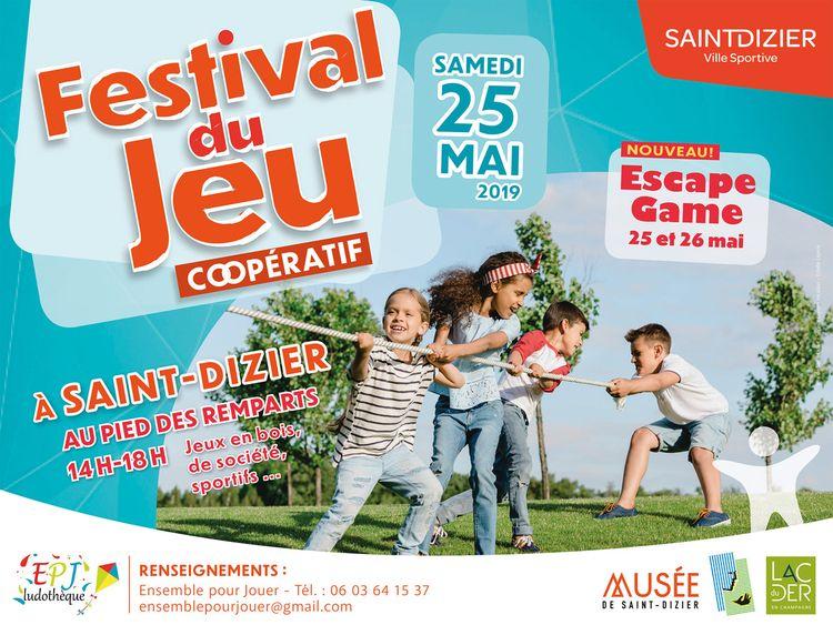 Festival du jeu coopératif - Saint-Dizier