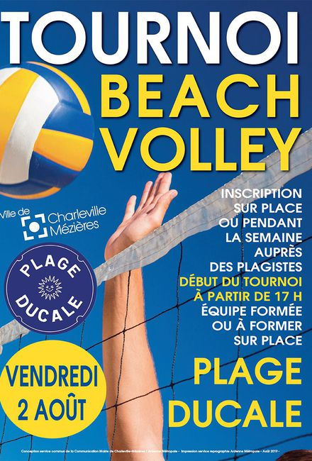 Tournoi de Beach volley - Charleville-Mézières