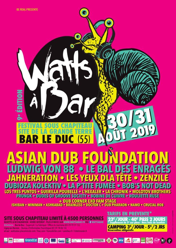 Festival Watts à Bar-le-Duc (55)