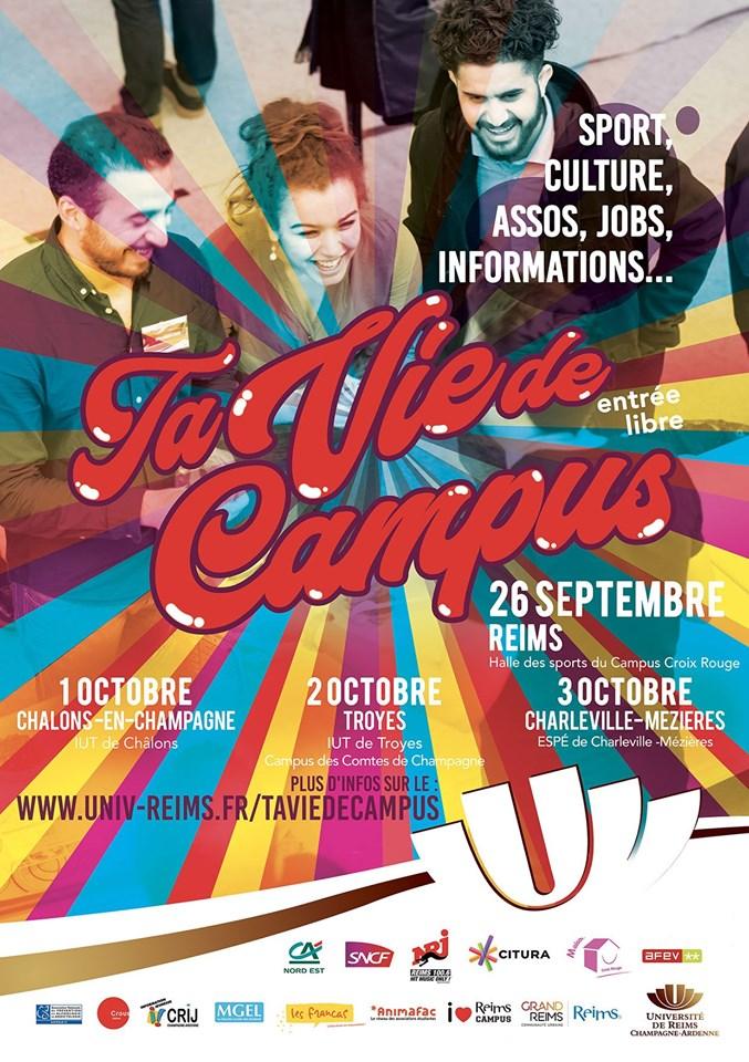 Ta Vie De Campus - Université Troyes