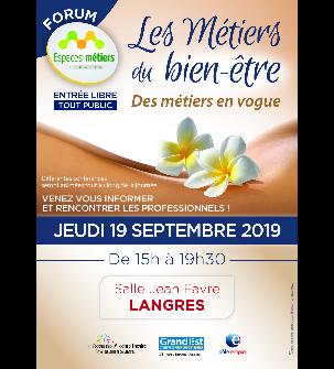 Forum des métiers du bien-être - Langres