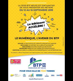 Le numérique, l'avenir du Bâtiment et Travaux Publics (BTP) - Verdun