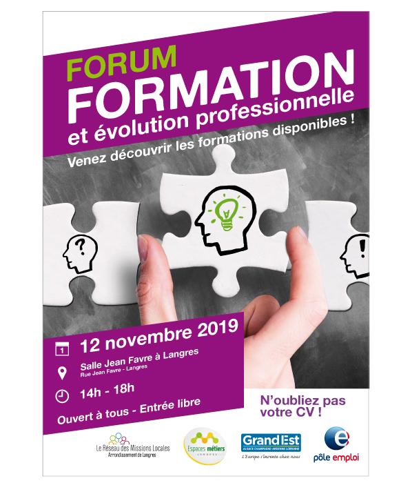 Forum formation et évolution professionnelle à Langres