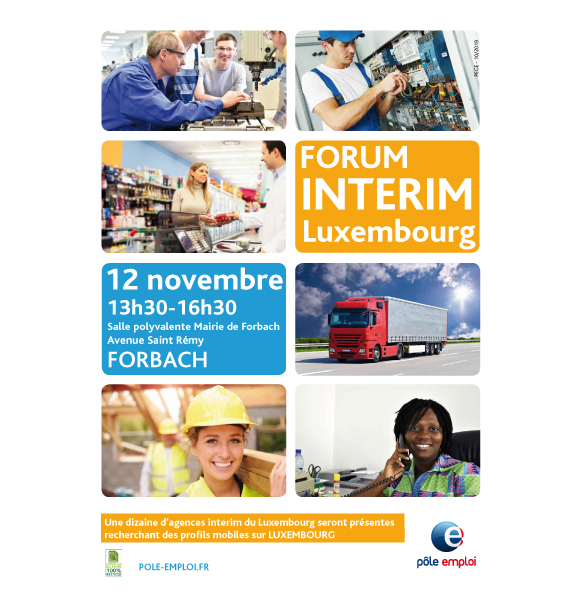 Forum interim Luxembourg - Forbach