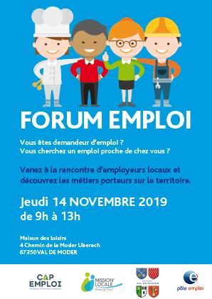 Forum emploi - Val de Moder
