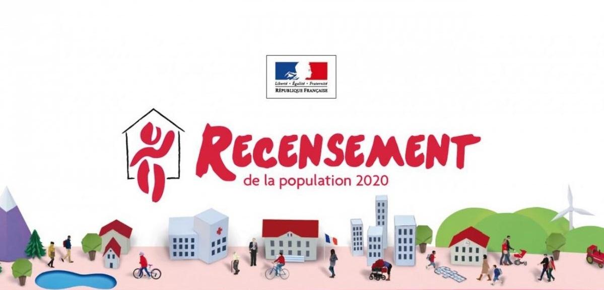 Recensement 2020 : la campagne est lancée !