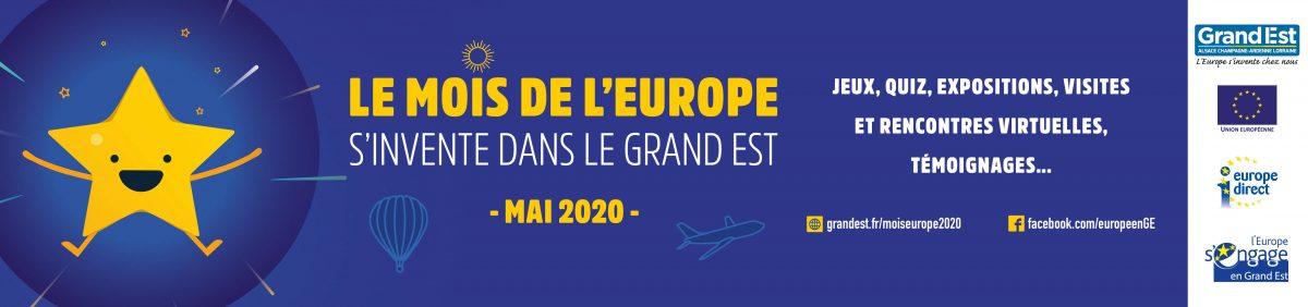 Mois de l'Europe 2020 en ligne !