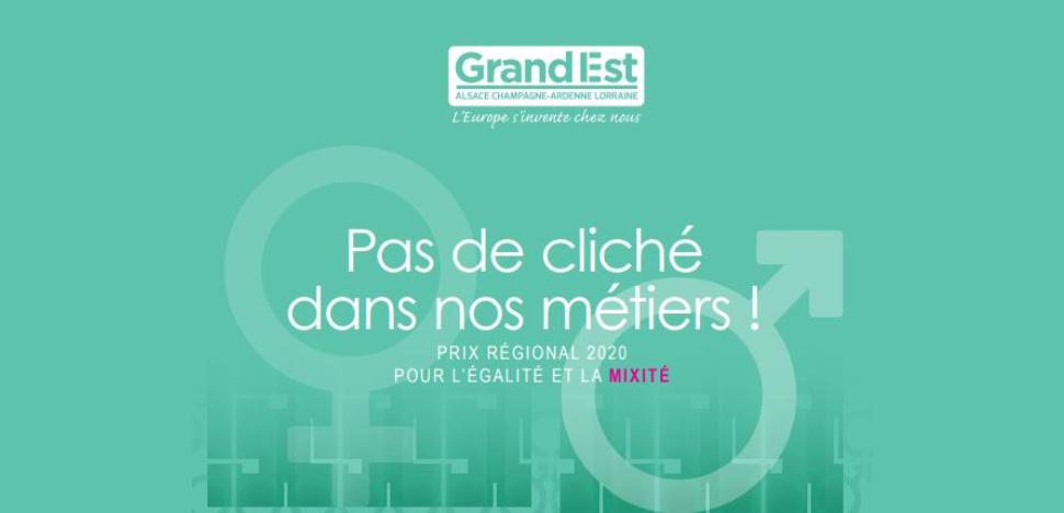 Prix Régional Mixité-Égalité en Région Grand Est