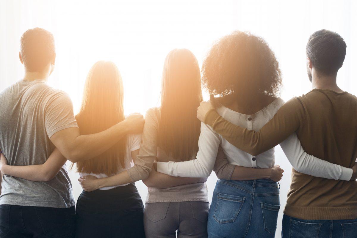 aide et soutien des amis