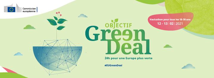 Apporte tes idées pour une Europe plus verte ! - Hackathon en ligne