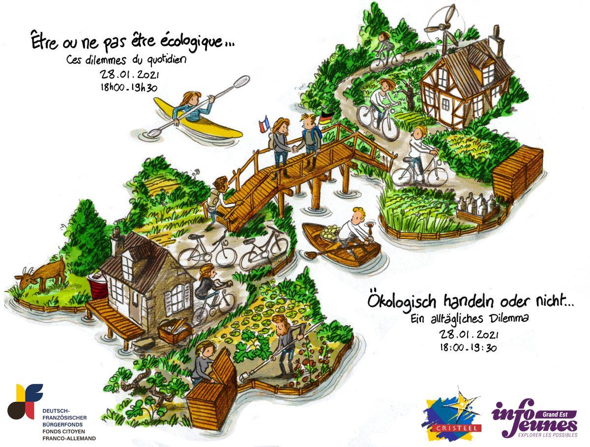 """""""Être ou ne pas être écologique..."""" - journée franco-allemande en ligne"""
