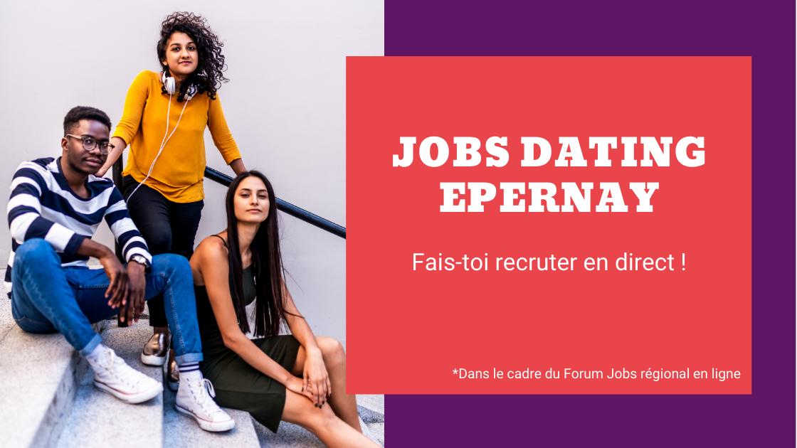 Jobs dating Epernay : une action dans le cadre du Forum Jobs en ligne
