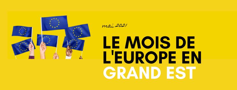 Et si tu participais au mois de l'Europe en Mai !