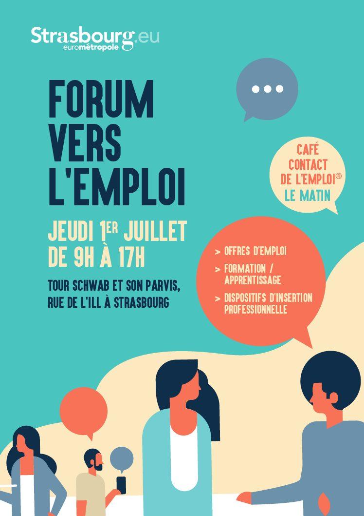 Strasbourg : Forum vers l'emploi