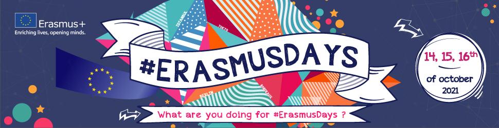 Erasmus Days 2021, c'est parti !