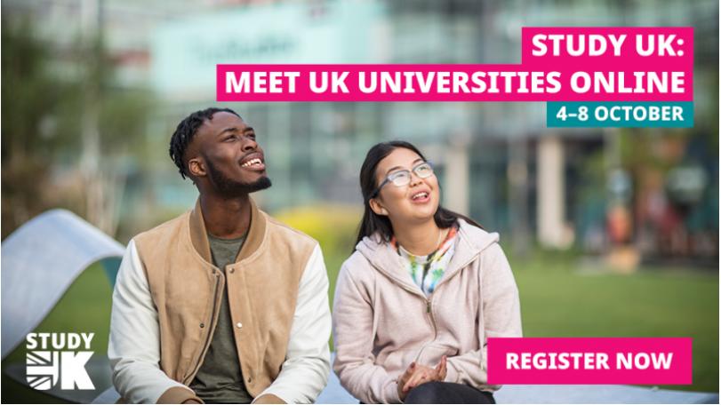 Study UK : Forum en ligne sur les études au Royaume-Uni